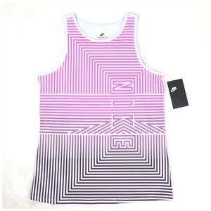 Nike Girls Striped Tank Top NWT Size XL